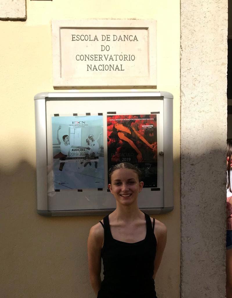 Francesca Drei Conservatorio Nazionale di Lisbona EDCN Francesca Drei ravenna ballet studio-2