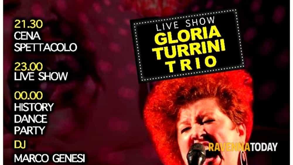 sabato 18 gennaio discoring dinner show club live gloria turrini trio @ bbk ravenna mare-2