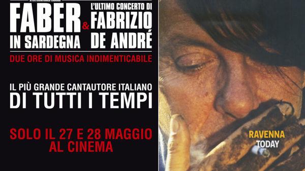 """""""faber in sardegna & l'ultimo concerto di fabrizio de andrè"""" al cinema Astoria"""