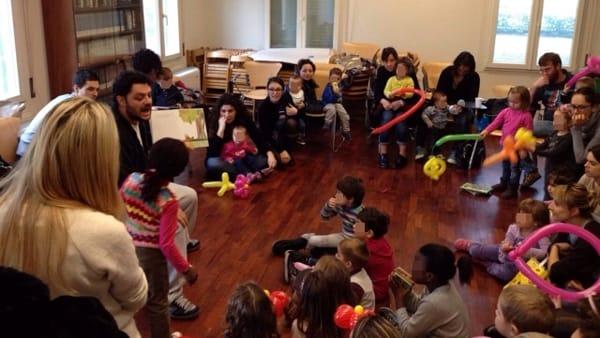 A Massa Lombarda un sabato con il baratto dei libri fra i bambini