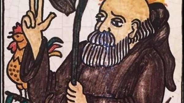Sant'Antonio e gli animali tra le ceramiche del Mic