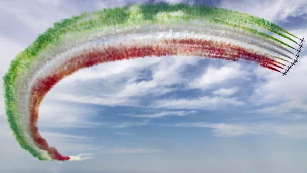 Le Frecce Tricolori tornano sulle spiagge romagnole