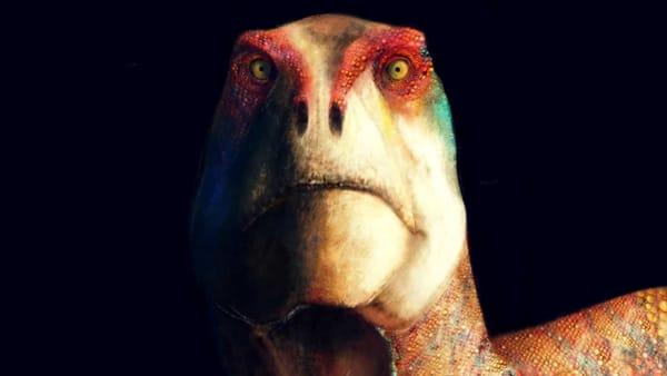 """Look at you"", lo sguardo profondo dei dinosauri di Nicola Montalbini"