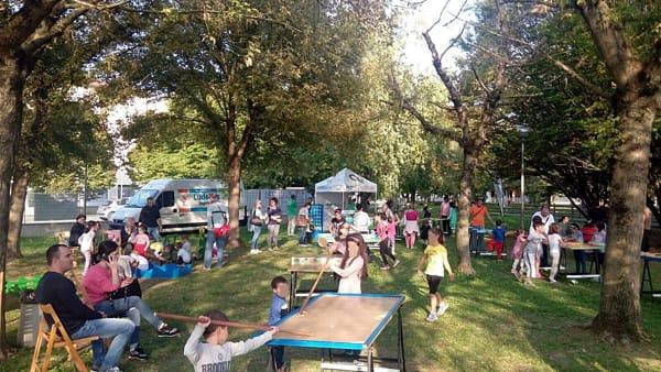 Massa Lombarda, una domenica di festa al parco Piave