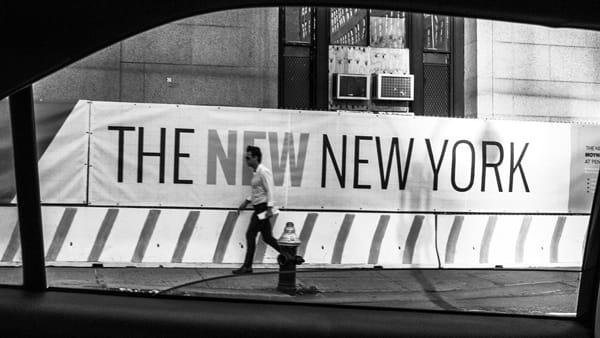"""""""The new New York"""", la personale fotografica di Marco Vacchi"""