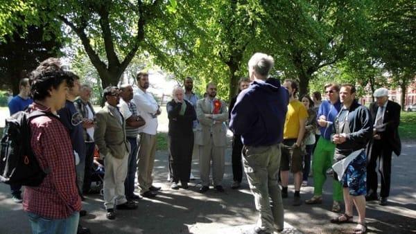 Si affrontano conflitti, pregiudizi e stereotipi allo Speaker Corner