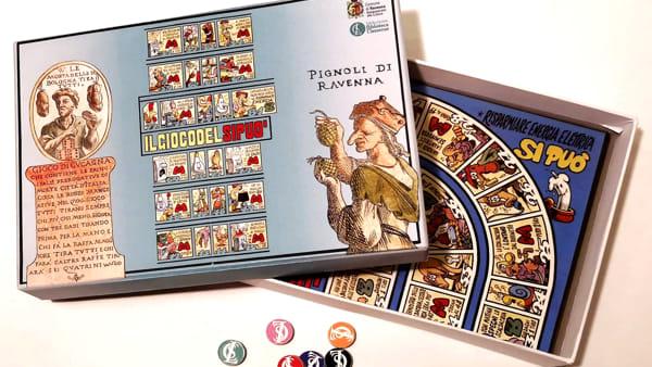 """""""Oche, civette e dadi"""", una straordinaria collezione dei giochi da tavolo"""