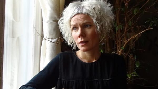 "La scrittrice norvegese Hanne Ørstavik presenta il libro ""Amore"""