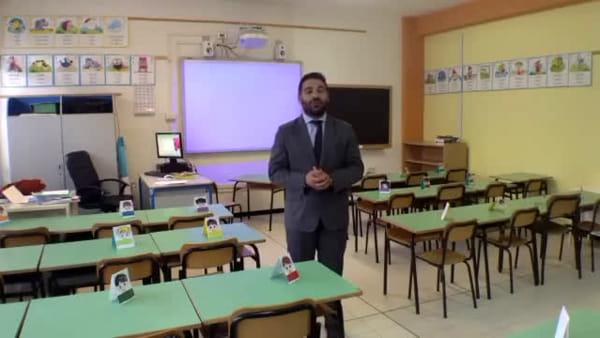 Il sindaco di Lugo saluta gli studenti dalla scuola appena rinnovata - VIDEO