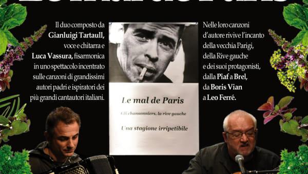 """Fraternità San Damiano, al chiostro il concerto  """"Le mal de Paris"""""""