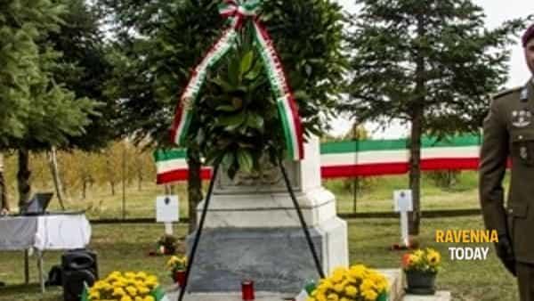Commemorazione dei caduti a Villanova di Ravenna