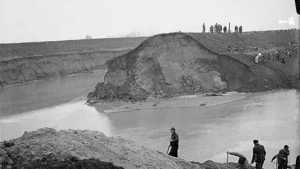 L'alluvione che allagò Fusignano: una mostra nel 70esimo anniversario