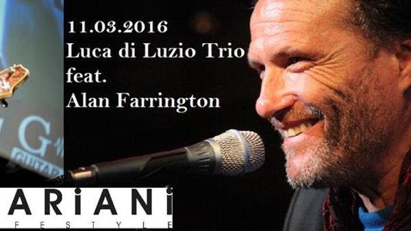 Luca di Luzio Trio e Alan Farrington al Mariani