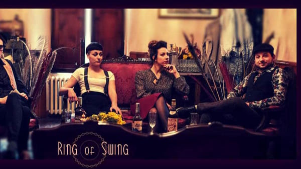 Colori jazz e blues nel concerto dei Ring of Swing