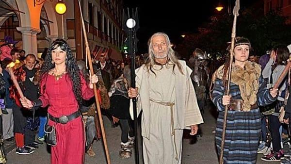Spettacolo ed emozione con Samhain, il capodanno celtico