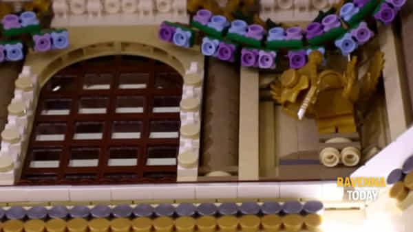 130mila mattoncini Lego per ricreare la Basilica di San Vitale - VIDEO