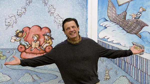 Il pluripremiato illustratore Peter Sís alla Classense