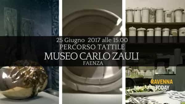 Un percorso tattile per scoprire il museo Carlo Zauli