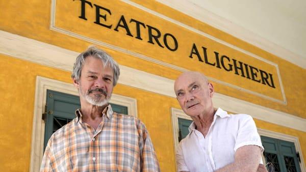 Enzo Vetrano e Stefano Randisi in scena con il dialogo tra Lucrezio e Seneca