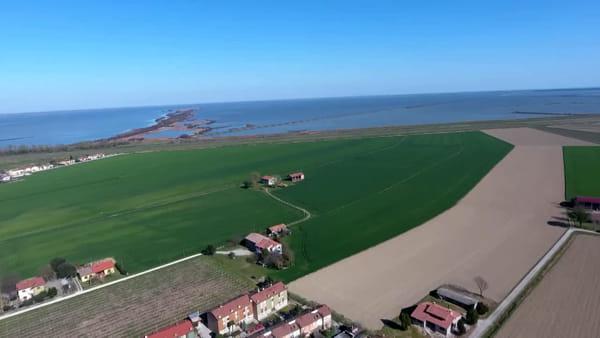 """""""Io resto a casa... ma il drone si fa un bel giro su Sant'Alberto!"""" - VIDEO"""