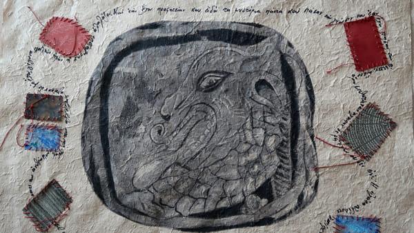 """Sigilli di piombo e pietra dell'antichità: la mostra """"Analecta"""" di Maria Kompatsiari"""