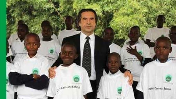 Il maestro Muti in concerto a Ravenna per i bambini della Little Prince di Nairobi