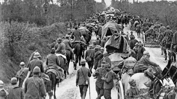 Caporetto e la svolta della grande guerra: il racconto degli storici