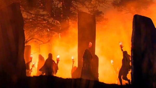 Baby Halloween all'Almagià, un percorso giocoso sulle tradizioni celtiche