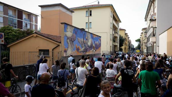 A caccia dei tesori della street art con la Biciclettata tra i murales