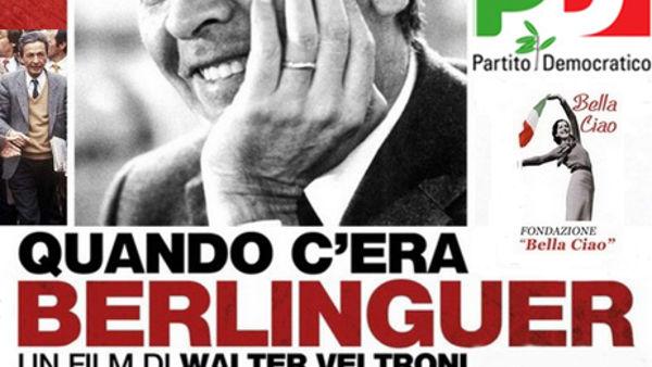 "Al Cinema Astoria ""Quando c'era Berlinguer"" di Walter Veltroni"