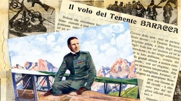 Alla Biblioteca Trisi inaugura una mostra sul mito di Francesco Baracca