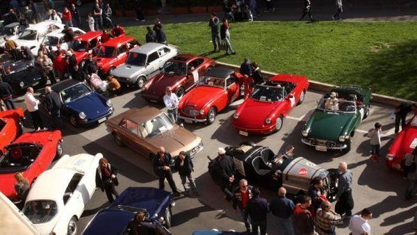 San Pietro in Vincoli, la Festa dello Sport con il raduno di auto d'epoca