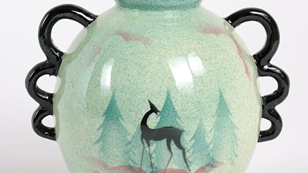 Le ceramiche decorate ad aerografo della Donazione Levi