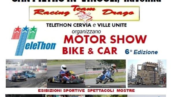 "A San Pietro in Vincoli ""Telethon motor show bike & car"""