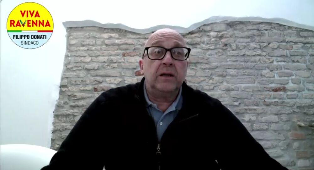 'Viva Ravenna': Filippo Donati presenta la lista civica a sostegno della sua candidatura a sindaco