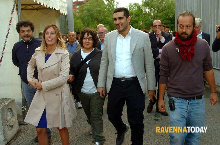 Il ministro Boschi star della Festa dell'Unità di Ravenna (fotoservizio Argnani)