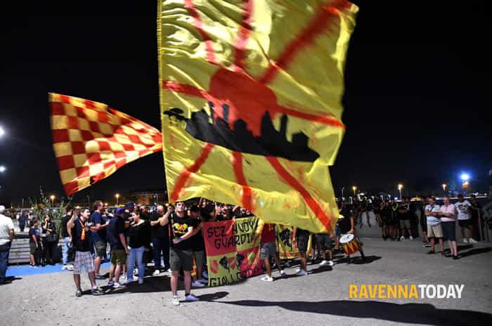 Il Ravenna Fc si presenta alla città (foto Argnani)