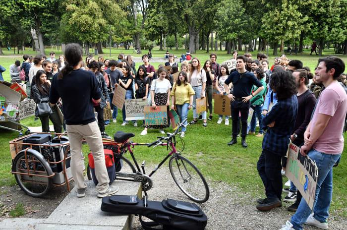 'Fridays for future' di nuovo a Ravenna (foto M.Argnani)